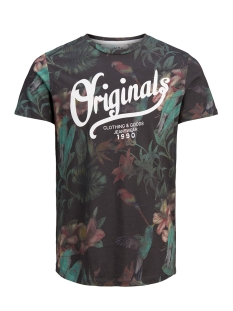 Jack & Jones T-shirt JORFLOWER TEE SS CREW NECK 12138410 Tap Shoe