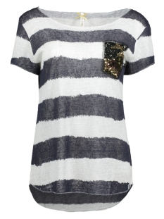 Key Largo T-shirt WT JOHANNA ROUND WT00079 1200 Navy