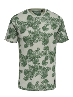 Only & Sons T-shirt onsBERG SS SLIM TEE 22008481 Seagrass
