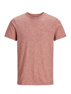 Jack & Jones T-shirt JPRNICK SS TEE CREW NECK 12135632 Brick Red