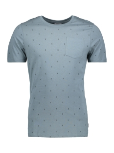 Jack & Jones T-shirt JCOMICRO TEE CREW NECK 12134851 Goblin Blue