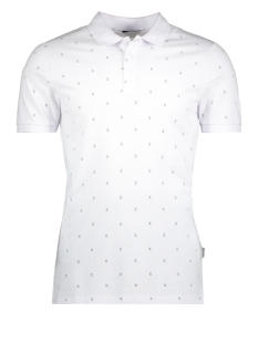 Jack & Jones Polo JCOMICRO POLO SS 12134850 White