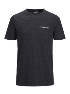 Jack & Jones T-shirt JCOMELANGE TEE SS CREW NECK FR 12135718 Sky Captain