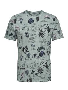 Only & Sons T-shirt onsDIMAS SLUB AOP SS TEE REG 22009955 Aquifer