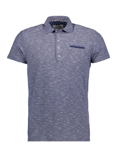 NO-EXCESS Polo 85340392 033 Indigo