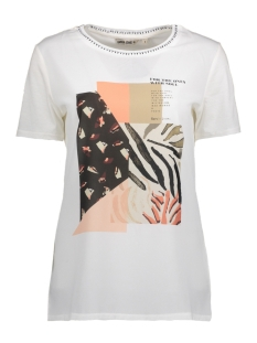 Garcia T-shirt P80206 53 Off White