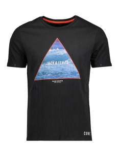 Jack & Jones T-shirt JCONIAGRA TEE SS CREW NECK NL 12139194 Black
