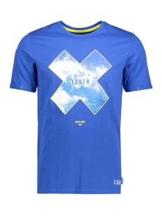 Jack & Jones T-shirt JCONIAGRA TEE SS CREW NECK NL 12139194 Nautical Blue