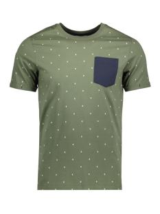 Jack & Jones T-shirt JCOMICRO TEE CREW NECK 12134851 Thyme