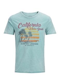 Jack & Jones T-shirt JORRIDER TEE SS CREW NECK 12136553 Plume/Slim