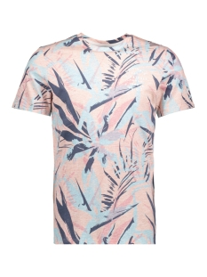 Jack & Jones T-shirt JORVENICER TEE SS CREW NECK ZA 12139360 Silver Pink