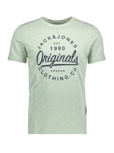 Jack & Jones T-shirt JORBREEZES TEE SS CREW NECK 12136504 Iceberg Green