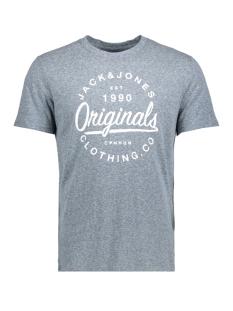 Jack & Jones T-shirt JORBREEZES TEE SS CREW NECK 12136504 Total Eclipse