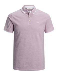 Jack & Jones Polo JPRPAULOS POLO SS NOOS 12091243 Lilas/Mixed With