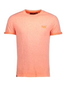 Superdry T-shirt M10006TQ LOW ROLLER PY8 (Hyper Pop Orange)