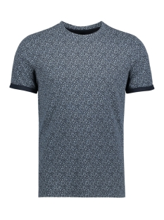 Jack & Jones T-shirt JPRAUSTIN AOP  TEE SS CREW NECK 12135556 Navy Blazer