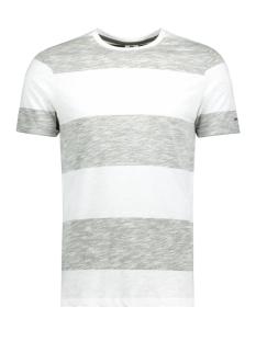 Jack & Jones T-shirt JCOSTRIPY TEE SS CREW NECK 12135648 Thyme