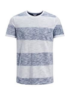 Jack & Jones T-shirt JCOSTRIPY TEE SS CREW NECK 12135648 Nautical Blue