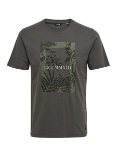 Only & Sons T-shirt onsSKYLAR SS TEE 22009300 Forged Iron