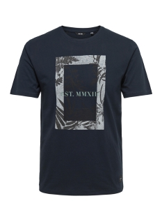 Only & Sons T-shirt onsSKYLAR SS TEE 22009300 Dark Sapphire