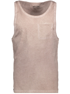 Only & Sons T-shirt onsSAWYER SL TOP 22009219 Fawn