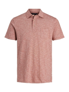 Jack & Jones Polo JPRNICK SS POLO 177181001 Brick Red