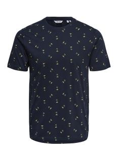 Jack & Jones T-shirt onsDOMINGO SS AOP TEE 22010561 Dark Sapphire
