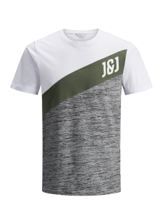 Jack & Jones T-shirt JCOSPORT TEE SS CREW NECK 12138321 Thyme
