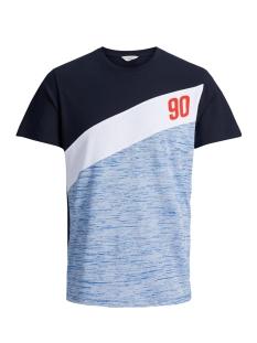Jack & Jones T-shirt JCOSPORT TEE SS CREW NECK 12138321 Sky Captain
