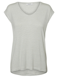 Pieces T-shirt PCBILLO TEE NOOS 17074036 Bright White/LAUREL WRE