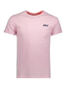 Superdry T-shirt M10007TQ Pastel Pink Marl(MRQ)