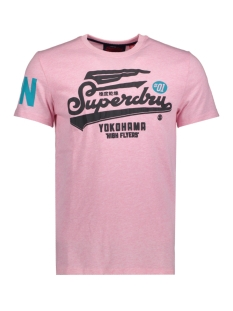 Superdry T-shirt M10024PQ Pastel Pink Marl(MRQ)