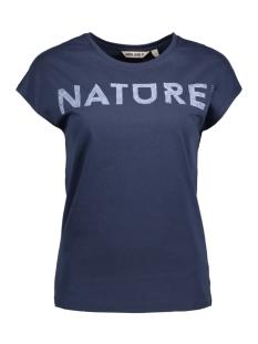 Garcia T-shirt Q80002 70 Marine