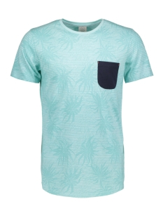 Jack & Jones T-shirt JORSTRAW TEE SS CREW NECK 12136593 Plume/SLIM