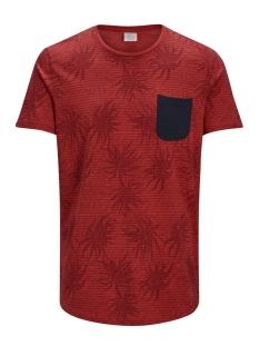 Jack & Jones T-shirt JORSTRAW TEE SS CREW NECK 12136593 Baked Apple