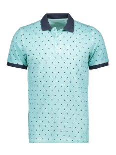Jack & Jones Polo JORSUUS POLO MINI PRINT 12139132 Plume