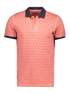 Jack & Jones Polo JORSUUS POLO MINI PRINT 12139132 Baked Apple