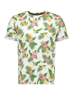 Only & Sons T-shirt onsDEVIN AOP FITTED TEE 22010017 White/Flower