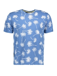 Only & Sons T-shirt onsDEVIN AOP FITTED TEE 22010017 Riviera/Palms