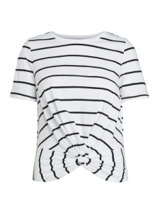Pieces T-shirt PCELEGANCE SS TEE D2D PB 17093936 Bright white/BLACK