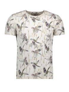 Garcia T-shirt O81004 2535 Grey Morn