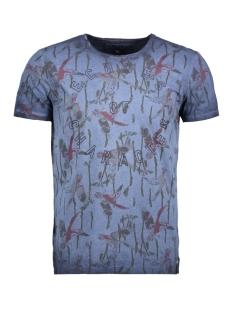 Garcia T-shirt O81004 70 Marine