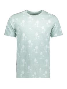 Jack & Jones T-shirt JPRJASON AOP TEE SS CREW NECK 12139058 Lily Pad