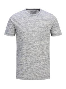 Jack & Jones T-shirt JPRNICK TEE SS CREW NECK 12136017 Light Grey Melange