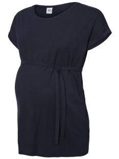 Mama-Licious Positie shirt MLAMSTERDAM S/S JERSEY T-SHIRT A. 20008910 Navy Blazer