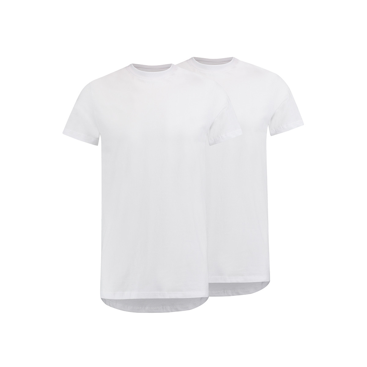 amsterdam o neck 2pack rj bodywear t-shirt wit