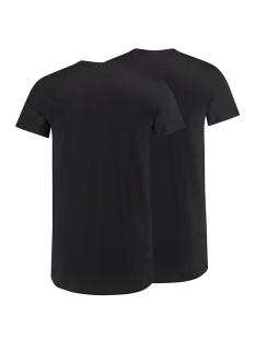 amsterdam o neck 2pack rj bodywear t-shirt zwart