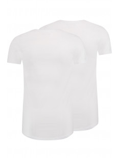 maastricht o neck 2pack rj bodywear t-shirt wit