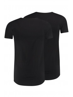 den bosch v neck 2pack rj bodywear t-shirt zwart