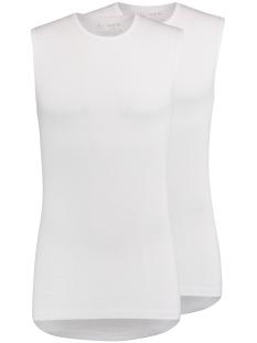 RJ Bodywear T-shirt ASSEN SLEEVELESS 2PACK WIT
